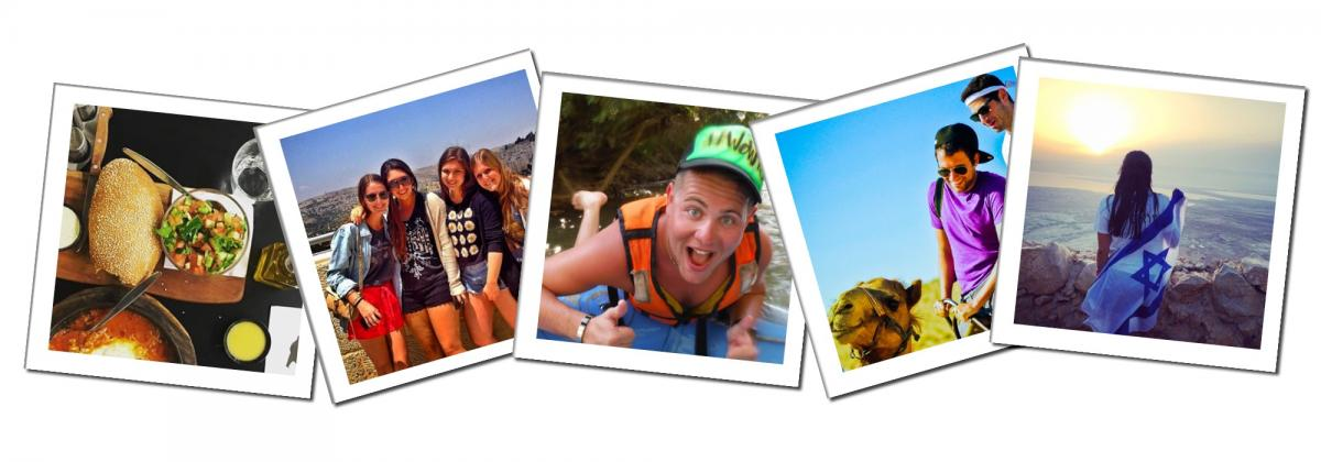 Birthright Israel Collage - 7 Day Ultimate Adventure