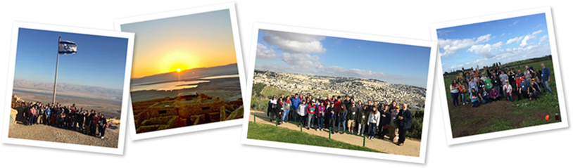 Birthright Israel Aspergers Trip Photo Collage