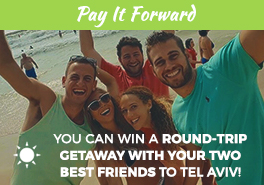 Birthright Israel: Shorashim - Pay It Forward Button Sidebar