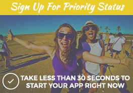 Birthright Israel: Shorashim - Sign Up Now Sidebar Button