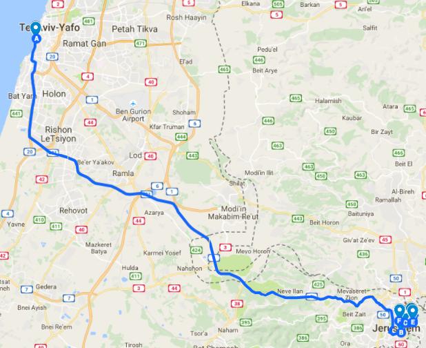 Birthright Israel Itinerary - Shorashim Trip Itinerary