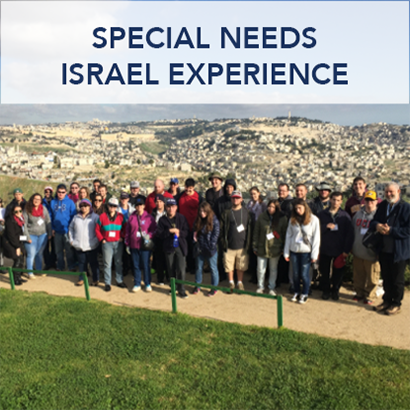 Birthright Israel Special Needs Trip Button