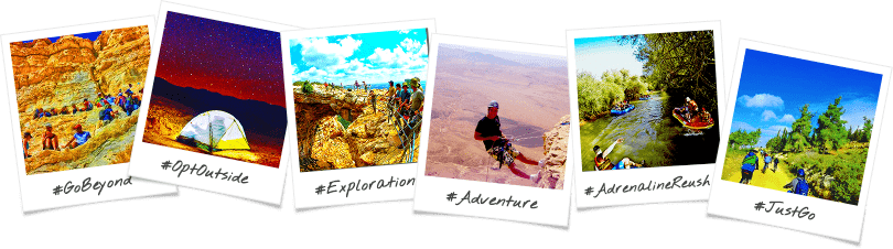 Amplified Adventure Trip Options Birthright Israel Polaroid Collage