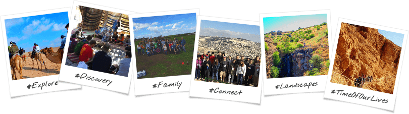 Aspergers Birthright Israel Trip Option Polaroid Collage