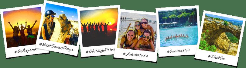 Chicago College Polaroid Collage