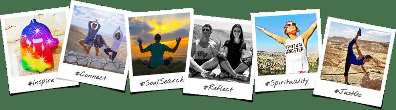 Exploration Birthright Israel Trip Options Polaroid Collage