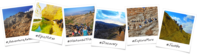 Ultimate Trekking Adventure Birthright Israel Trip Options Polaroid Collage