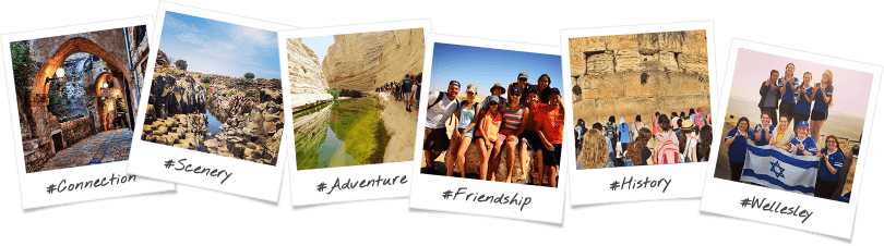 Wellesley Birthright Israel Trip Options Polaroid College